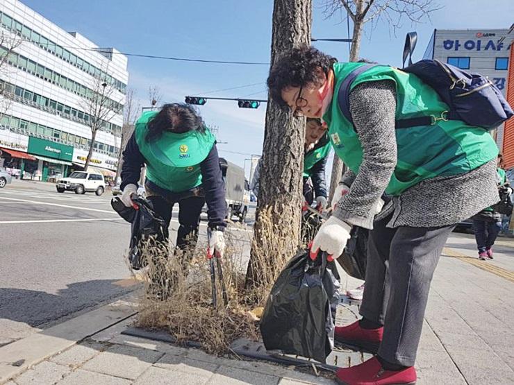 서울 강북구새마을회, 환경정화활동
