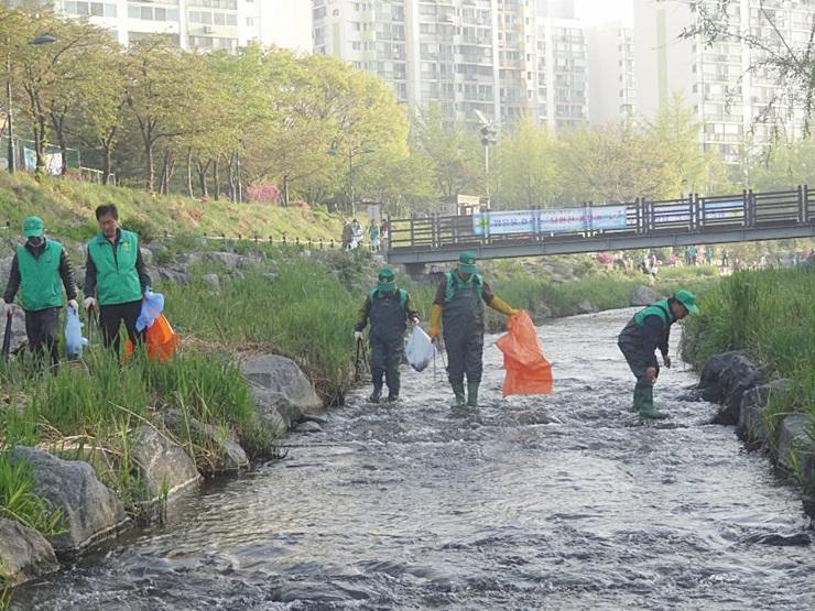 서울 노원구지회, 소하천 환경정화활동