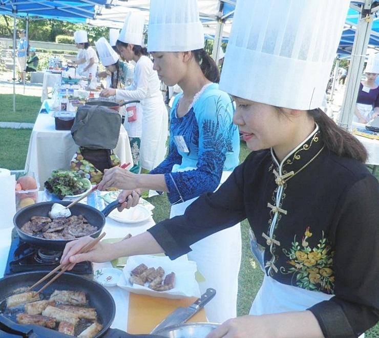 서울 동대문구지회, 다문화 요리대회