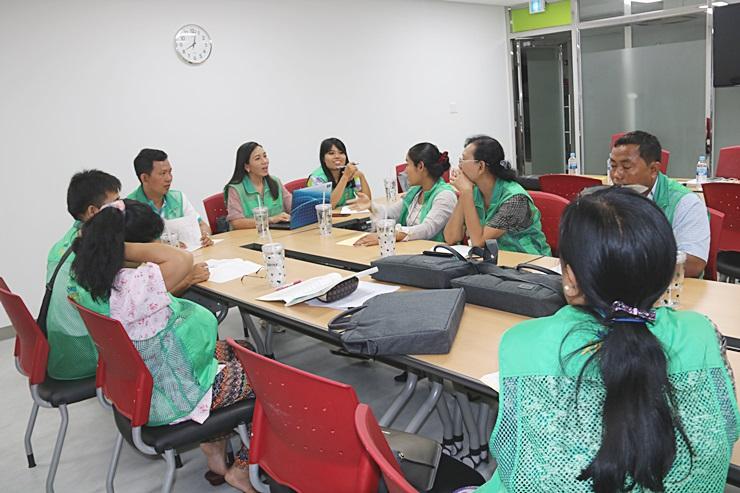 미얀마·타지키스탄·키르기스스탄초청 새마을교육