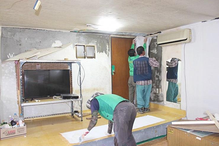 경북 의성군 의성읍협의회와 부녀회, 주거환경 개선사업