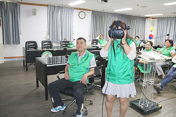 몽골지도자 초청 새마을교육
