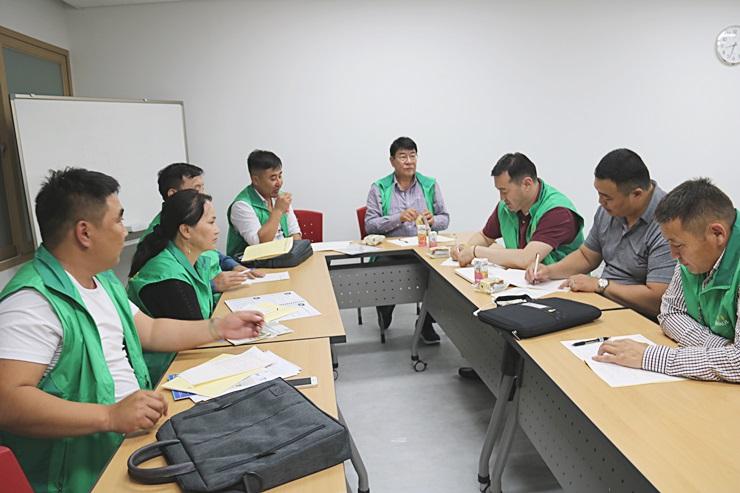 몽골 울란바타르시 공무원 새마을교육