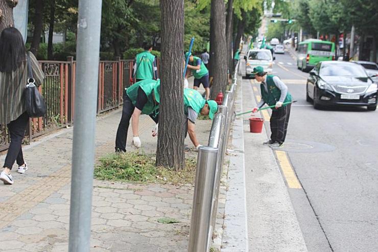 서울 강동구협의회, 환경정화활동