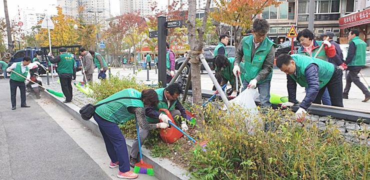서울 마포구지회, 환경정화활동