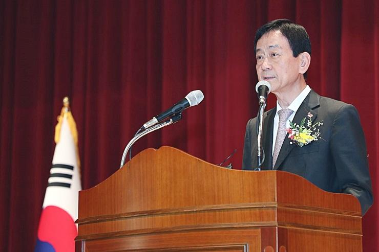진영 행정안전부 장관 취임