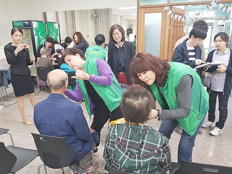 광주 북구 용봉동부녀회, 장수사진 찍어드리기