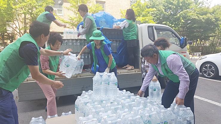 인천, 식수전달…도서지역 재능기부
