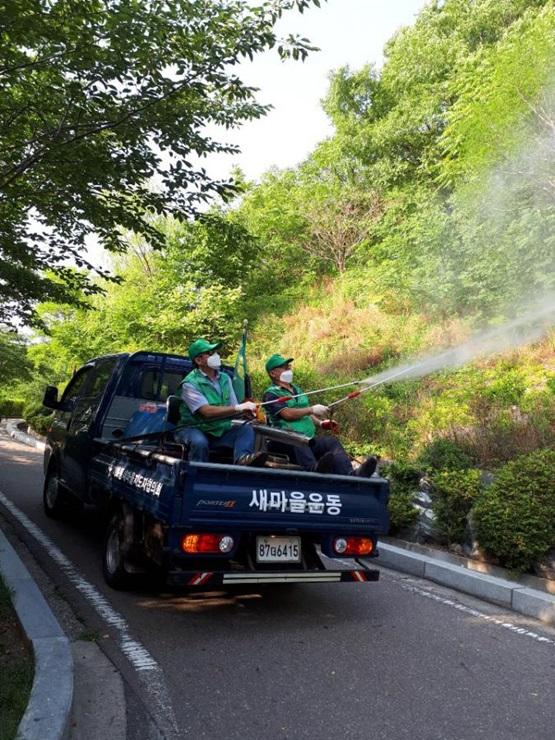 서울 종로구 이화동협의회, 관내 방역활동을 실시