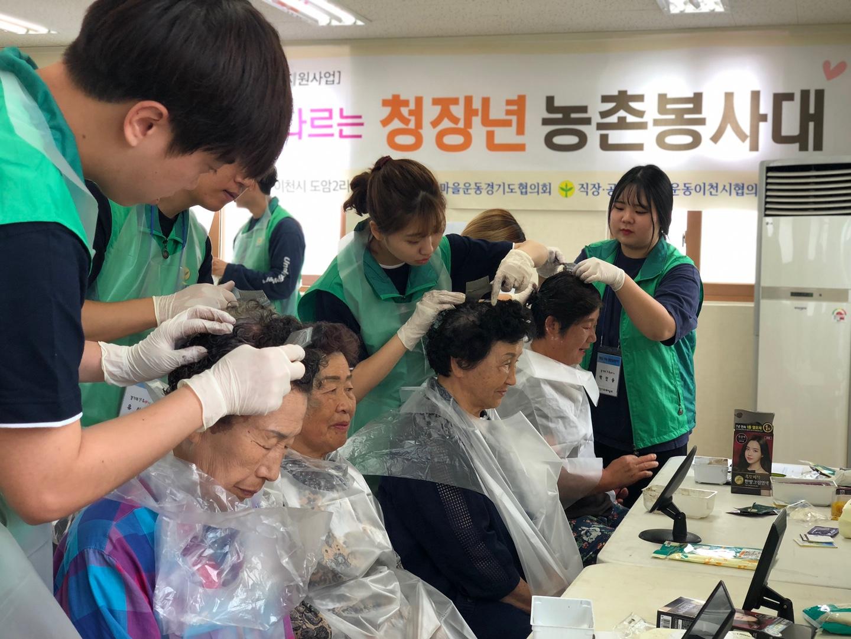 경기, 청장년농촌봉사대 활동