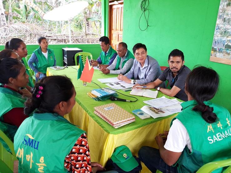 파푸아뉴기니·동티모르 현장지도 및 점검