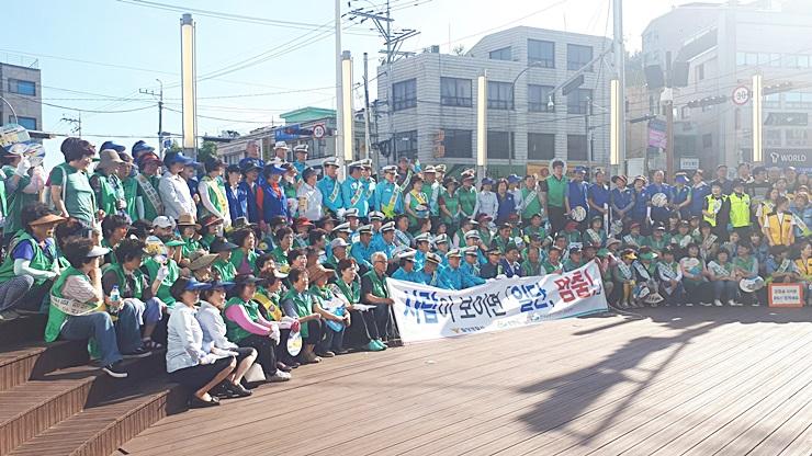 경남 밀양시새마을회, 교통안전 캠페인