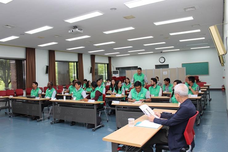중남미 6개국 공무원 초청 새마을 교육