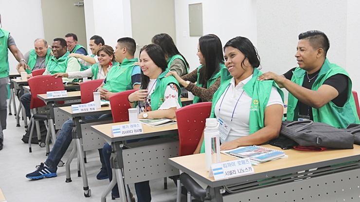 중남미 6개국 고위공무원 초청 새마을교육