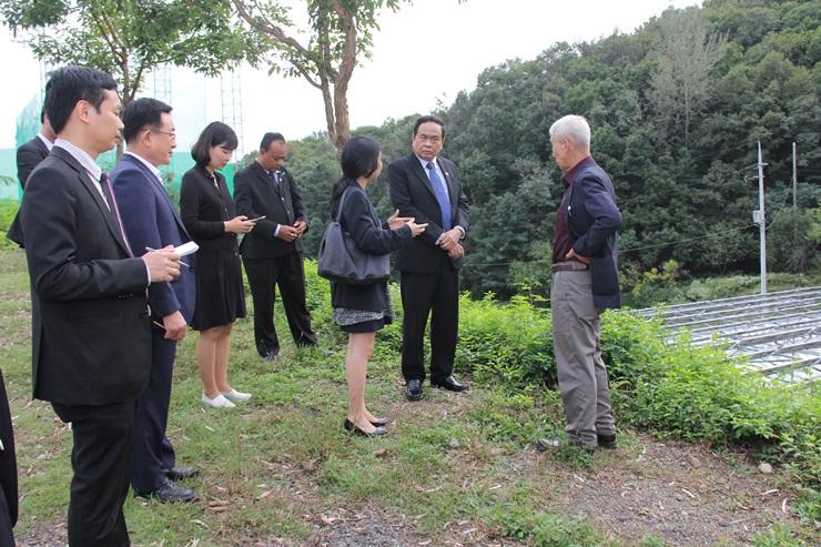 베트남 조국전선위원장, 중앙회 방문