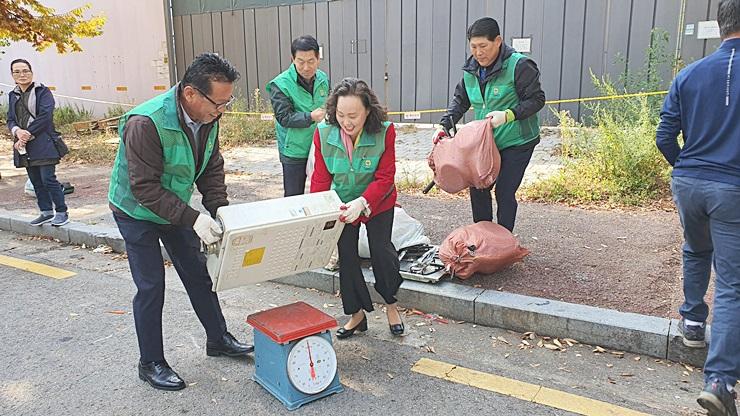 서울 마포구지회, 숨은 자원 모으기