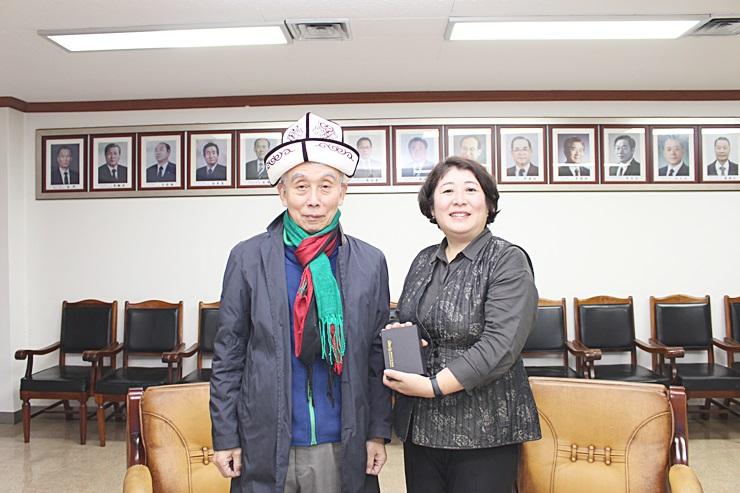 중앙회장, 키르기스스탄 대사 면담