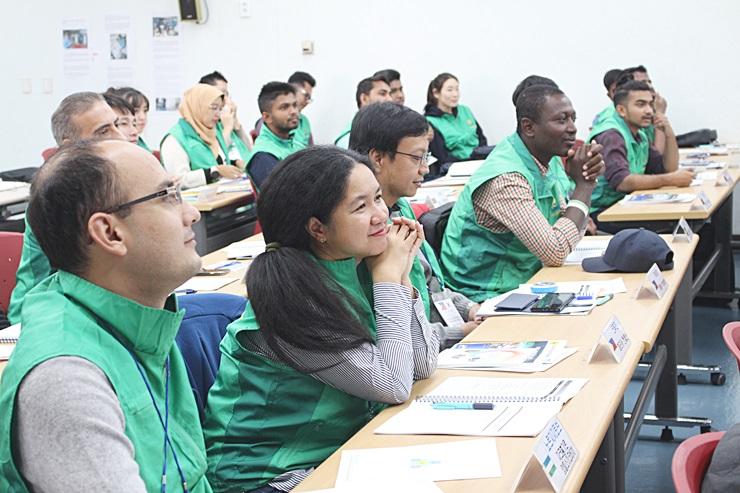 2019 외국인유학생 초청 새마을교육