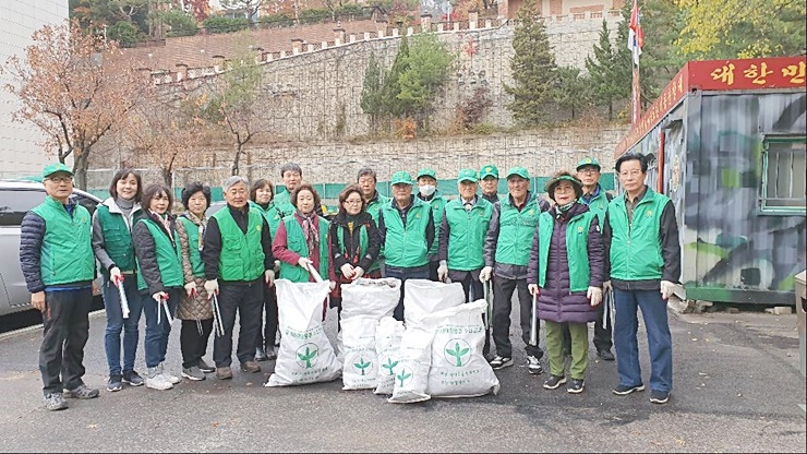 이북5도, 북한산 환경정화 활동