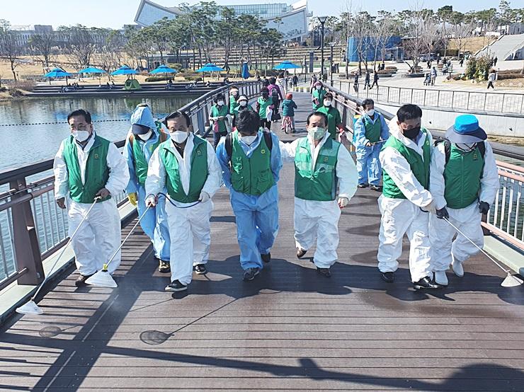 중앙협의회, 세종·대전·충북 합동방역