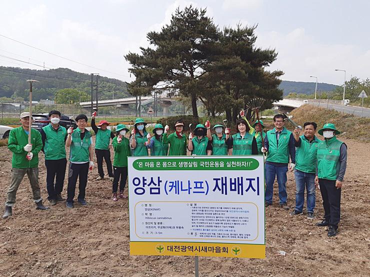 중앙회 '양삼 심기'로 생명살림 국민운동 본격 시동