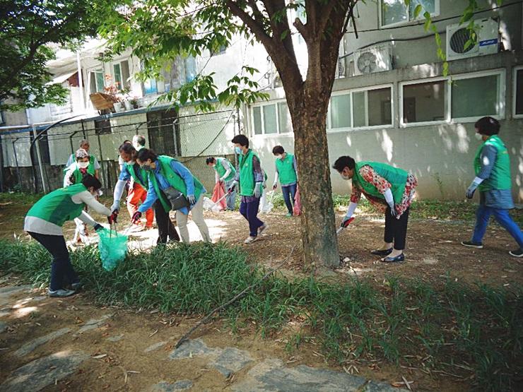 전남 담양군새마을회, 생활쓰레기 수거·청결활동 실시