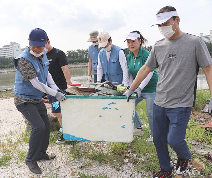 전남 광양시새마을회, 해안가 환경정화활동