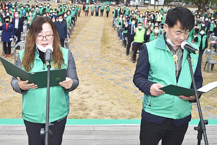 충북 제천시새마을회, '50주년 기념식과 생명살림국민운동 선포식' 개최