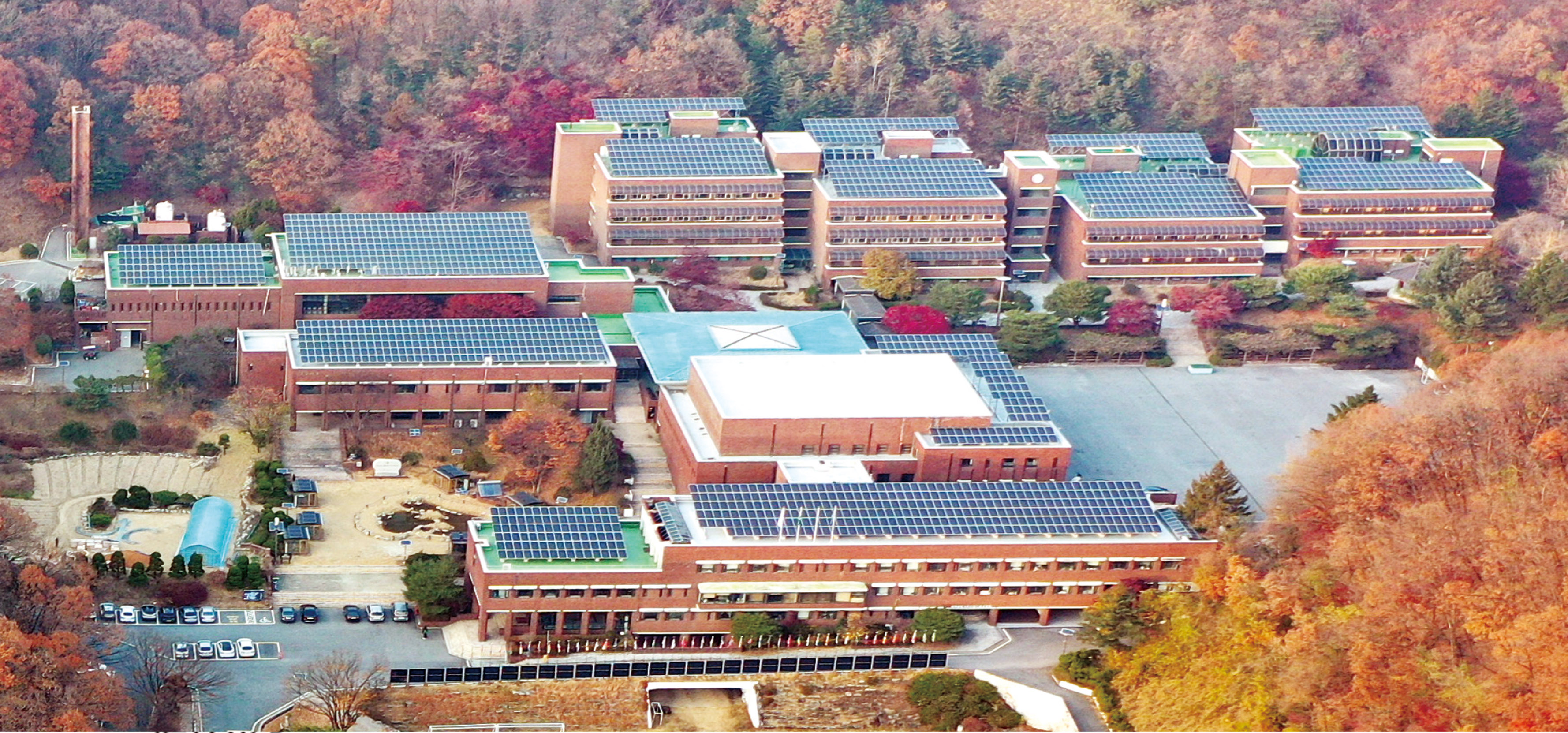 중앙연수원 에너지 자립 조기 달성