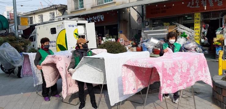 대전 동구 가양2동부녀회,새마을이동빨래방 운영