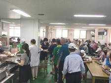전북 군산시 경암동부녀회, 어르신 급식봉사
