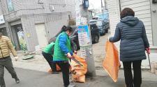 대구 동구 신암1동협의회와 부녀회, 환경정화활동