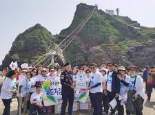 광주 남구새마을회, 독도 지킴이 위문품 전달