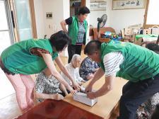 광주 동구 계림동협의회와 부녀회, 어르신 생일상 차려 드리기