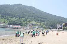 경남 거제시지회, 환경정화활동