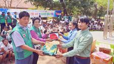 전남 장흥군새마을회, 캄보디아에서 지구촌새마을운동