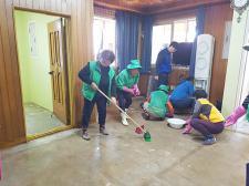 충북 괴산군새마을회, 수해피해 가구 일손돕기