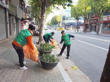 대구 동구 효목2동협의회와 부녀회, 환경정화활동