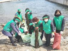 부산 영도구새마을회, 해양오염 쓰레기 수거