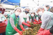 인천 서구부녀회, 사랑의 계절 김치 나눔