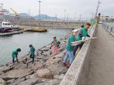 전남 광양시새마을회, 해양쓰레기 수거활동