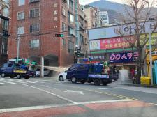 부산 북구협의회, 관내 일대 방역