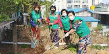 대전 중구 대사동부녀회, 나무심기