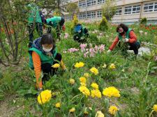 울산 울주군 온산읍부녀회, 새마을꽃동산 가꾸기