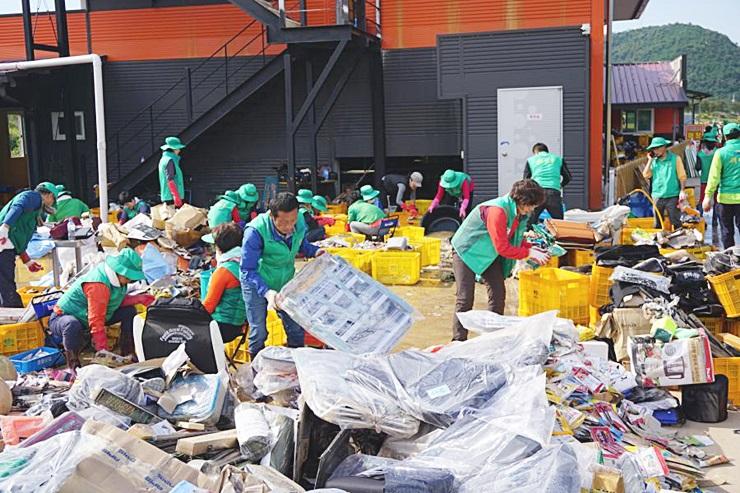 대구, 태풍 콩레이 피해 복구활동